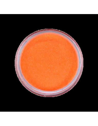 Polvo efecto azúcar naranja
