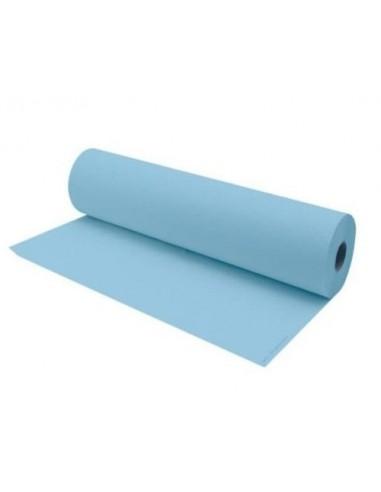 Rollo de Papel Camilla 1 Capa azul 1,5Kg