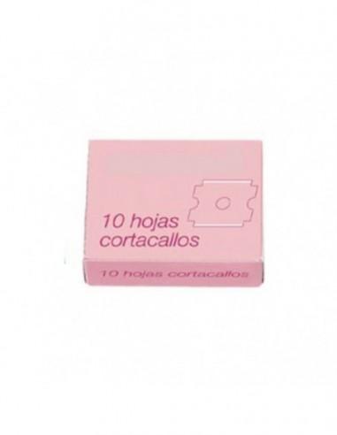 Paquete 10 Hojas Corta-Callos