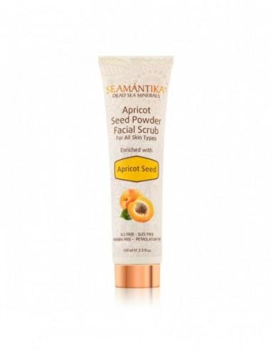Apricot Seed Powder Facial Scrub -...
