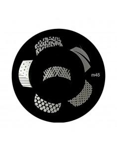 Placa para stamping m45