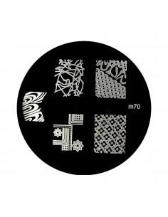 Placa para stamping m 70