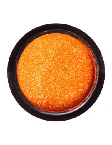 Efecto Espejo Naranja Metalizado