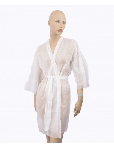 Kimono blanco desechable (precio por...